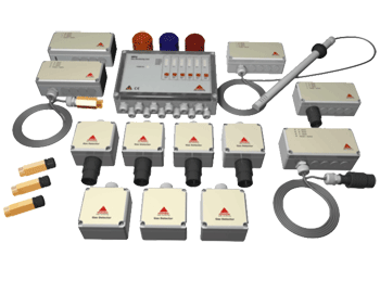 Samon leak detection system